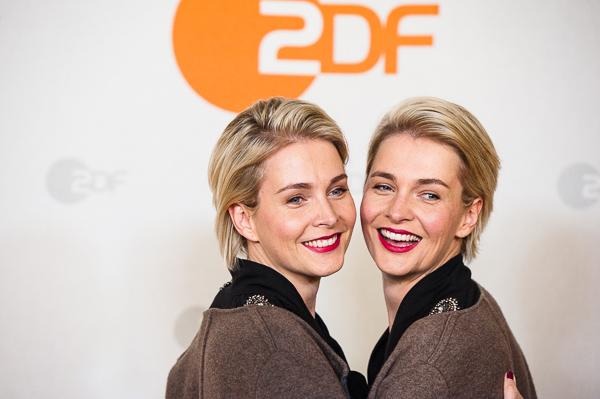Meise-Zwillinge bei Filmpremiere in Berlin
